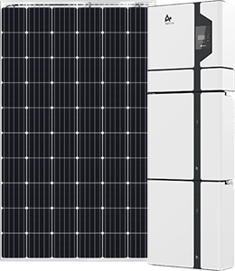 Jim's Energy solar offer Longi solar panel with Alpha battery